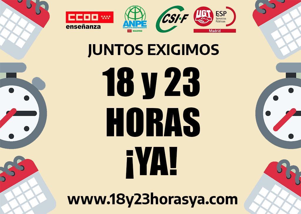 Calendario Escolar 2020 Madrid.Firma Por La Reduccion Del Horario Lectivo Para El Curso